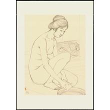 Hashiguchi Goyo: Graphite on Paper Sketch 11 - Ohmi Gallery