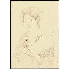 Hashiguchi Goyo: Graphite on Paper Sketch 1 - Ohmi Gallery