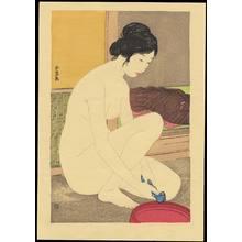 Hashiguchi Goyo: Woman at the Bath - 浴後の女 - Ohmi Gallery