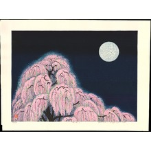 Hayashi, Waichi: Cherry Blossoms at Night - 花明い - Ohmi Gallery