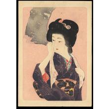 Hirezaki, Eiho: Bijin in Spring (1) - Ohmi Gallery