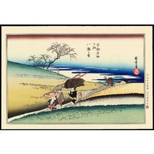 歌川広重: Yase Village - 八瀬之里 - Ohmi Gallery