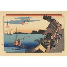 歌川広重: Kanagawa - 神奈川 - Ohmi Gallery