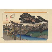 歌川広重: Fujisawa - 藤澤 - Ohmi Gallery