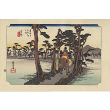 Utagawa Hiroshige: Yoshiwara - 吉原 - Ohmi Gallery