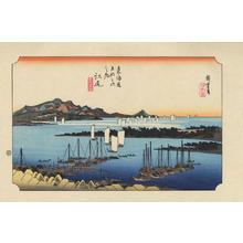 歌川広重: Ejiri - 江尻 - Ohmi Gallery