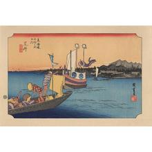 Utagawa Hiroshige: Arai - 荒井 - Ohmi Gallery