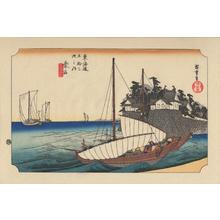 歌川広重: Kuwana - 桑名 - Ohmi Gallery
