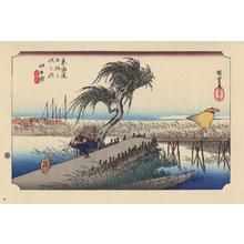 Utagawa Hiroshige: Yokkaichi - 四日市 - Ohmi Gallery