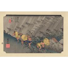 Utagawa Hiroshige: Shono - 庄野 - Ohmi Gallery