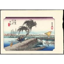 Utagawa Hiroshige: Kambara - Ohmi Gallery