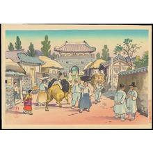 Hiyoshi Mamoru: Korean Market - Ohmi Gallery