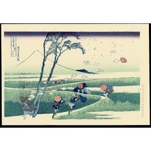葛飾北斎: Ejiri in Suruga - 駿州江尻 - Ohmi Gallery