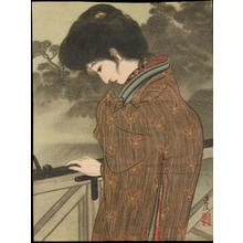 Igawa Sengai: On The Balcony (1) - Ohmi Gallery