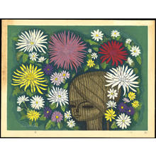 Ikeda Shuzo: Chrysanthemum - 菊 - Ohmi Gallery