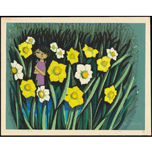 Ikeda Shuzo: Daffodils - 水仙 - Ohmi Gallery