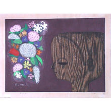 Ikeda Shuzo: Flowers and Young Boy - 花と少年 - Ohmi Gallery