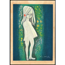 Ikeda Shuzo: Girl with Blonde Hair - 白のケ女 - Ohmi Gallery
