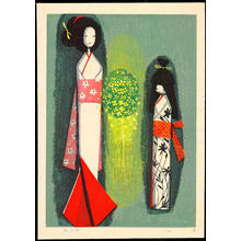 Ikeda Shuzo: Paper Dolls - 紙人形 - Ohmi Gallery