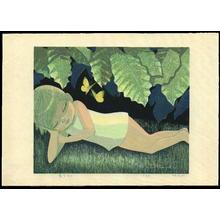 Ikeda Shuzo: Yellow Butterfly - Ohmi Gallery