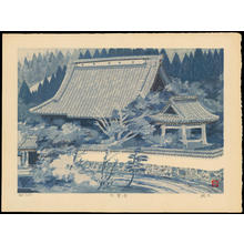 Imai Takehisa: Daikakuji Temple - 大覚寺 - Ohmi Gallery