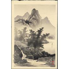 Tekiho, Imoto: Bamboo and Mountain - Ohmi Gallery