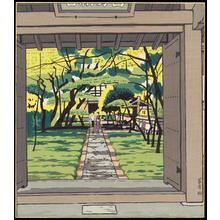 Ito, Nisaburo: Kokedera Temple - 苔寺 - Ohmi Gallery