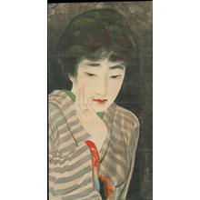 Ito Shinsui: A Worried Look (1) - Ohmi Gallery