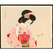 Ito Shinsui: Make-up - 化粧 - Ohmi Gallery