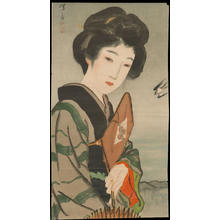 Ito Shinsui: Rain Expected (1) - Ohmi Gallery