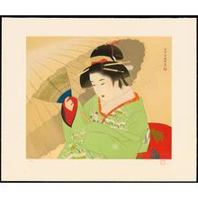 Ito Shinsui: Snow Storm - 吹雪 - Ohmi Gallery
