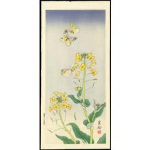 Jo 1930s): Butterflies and Yellow Flowers - Ohmi Gallery