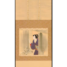 Kaburagi Kiyokata: Bijin and Fragrant Flowers - 秋 (1) - Ohmi Gallery