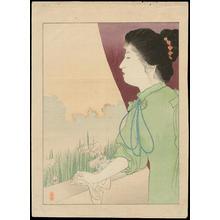 梶田半古: Welcome - 歓迎 (1) - Ohmi Gallery