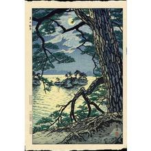 笠松紫浪: Moon at Matsushima - Ohmi Gallery