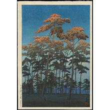 Kawase Hasui: Hikawa Park, Omiya - Ohmi Gallery