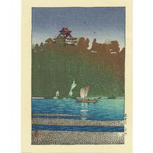 Kawase Hasui: Kiso River- at Inuyama - 木曽川 - Ohmi Gallery