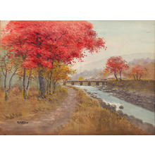 Kondo: River Stream in Full Autumn (1) - Ohmi Gallery