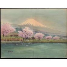 Kondo: Fuji in Full Spring (1) - Ohmi Gallery