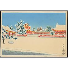 Kotozuka Eiichi: Council Hall in the Imperial Palace - 大極殿 - Ohmi Gallery