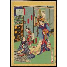 Utagawa Kunisada: Tokyo Shinshimabara Keiseibeya - 東京新島原傾城部屋 - Ohmi Gallery