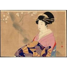 宮川春汀: Oiran (Courtesan) (1) - Ohmi Gallery