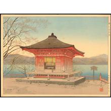 Masamoto, Mori: Aizendo Temple at Utagahama Beach - 歌ヶ濱愛染堂 - Ohmi Gallery