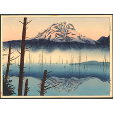 Masamoto, Mori: Lake Taisho in the Morning - 大正池の朝 - Ohmi Gallery