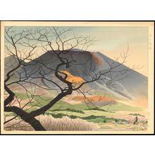 Masamoto, Mori: Oiwake in Asama - 追分浅間 - Ohmi Gallery