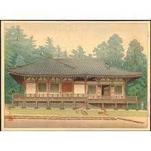 Masamoto, Mori: Sangatsu-Do Temple - 三月堂 - Ohmi Gallery