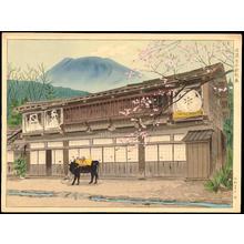 Masamoto, Mori: Masugata Ryokan in Shinano Oiwake - 信濃追分枡形屋 - Ohmi Gallery