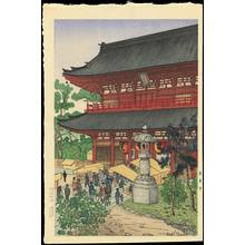 Nouet, Noel: Sensoji Temple (Asakusa) - Ohmi Gallery