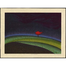 Ohnishi Yasuko: Sunset Cloud That Became A Tree - 木になった夕焼けの雲 - Ohmi Gallery