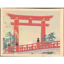 Okumura, Koichi: Heian Shrine (Spring) - Ohmi Gallery